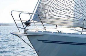 sailboat with Furlex hardware