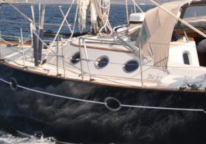portlights on a sailing yacht